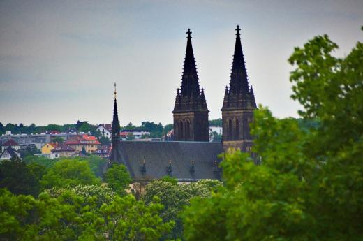 Basilica of St. Peter and St. Paul at Vyšehrad