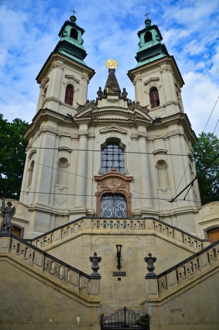 Church of St. John of Nepomuk on the Rock