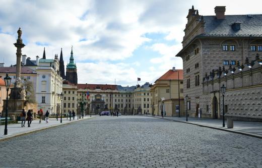 Schwarzenberg Palace at Hradčanské Square
