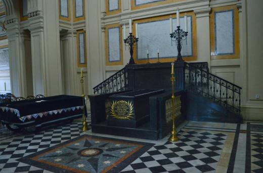The ceremonial hall was designed by architect Bedřich Münzberger