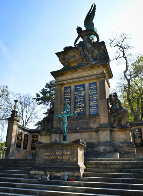 Vyšehrad Cemetery - Slavín